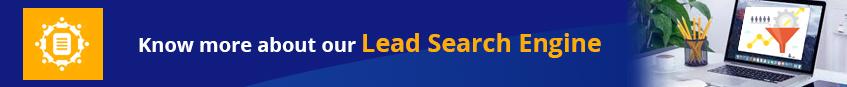 Know more about our lead search engine
