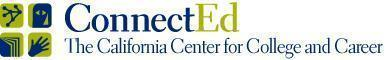 ConnectEd: The California Center for College and Career Logo
