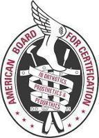 American Board for Certification in Orthotics, Prosthetics and Pedorthics Logo