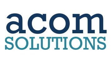 ACOM Solutions, Inc. Logo