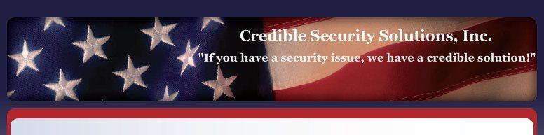 Credible Security Solutions, Inc. Logo