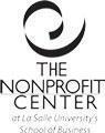 The Nonprofit Center at La Salle University's School of Business Logo