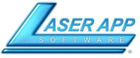 Laser App Software Logo
