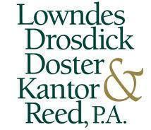 Lowndes, Drosdick, Doster, Kantor & Reed, P.A. Logo