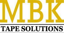 MBK Tape Solutions Logo