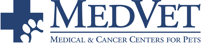 MedVet Medical & Cancer Centers for Pets Logo