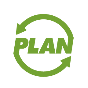 PLAN: The Post-Landfill Action Network Logo