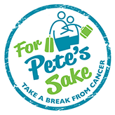For Pete's Sake Cancer Respite Foundation Logo